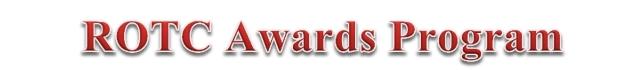 ROTC Awards Program